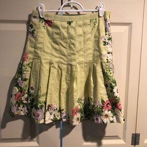 LOFT 4P floral skirt